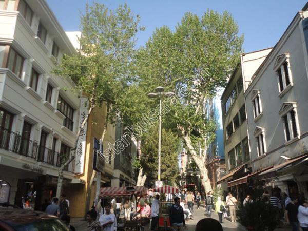 خیابان نور عثمانیه استانبول