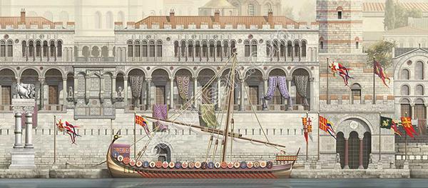 کاخ بوکولیون استانبول