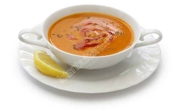 سوپ عدس یا مرجیمک (Mercimek Corbasi)