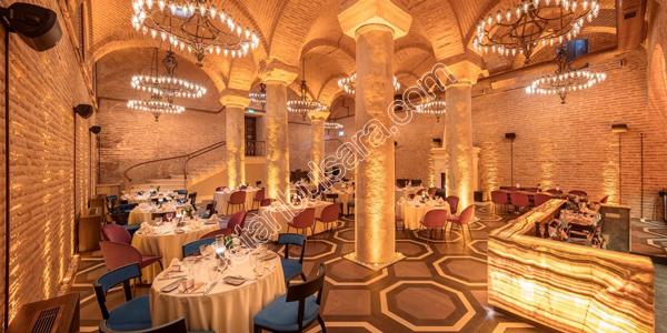 رستوران Basilica Cistern