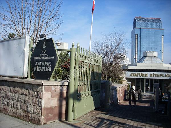 کتابخانه آتاتورک استانبول