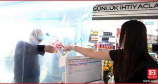 تدبیر پلاستیکی برخی داروخانههای استانبول برای مقابله با کرونا